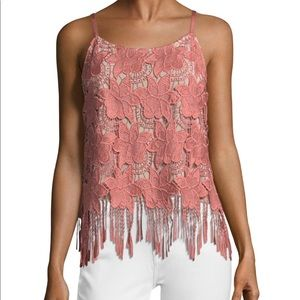Alice and Olivia Embroidered Camisole Top